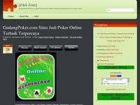 Gudangpoker Com Situs Judi Poker Online Terbaik Terpercaya Sqworl